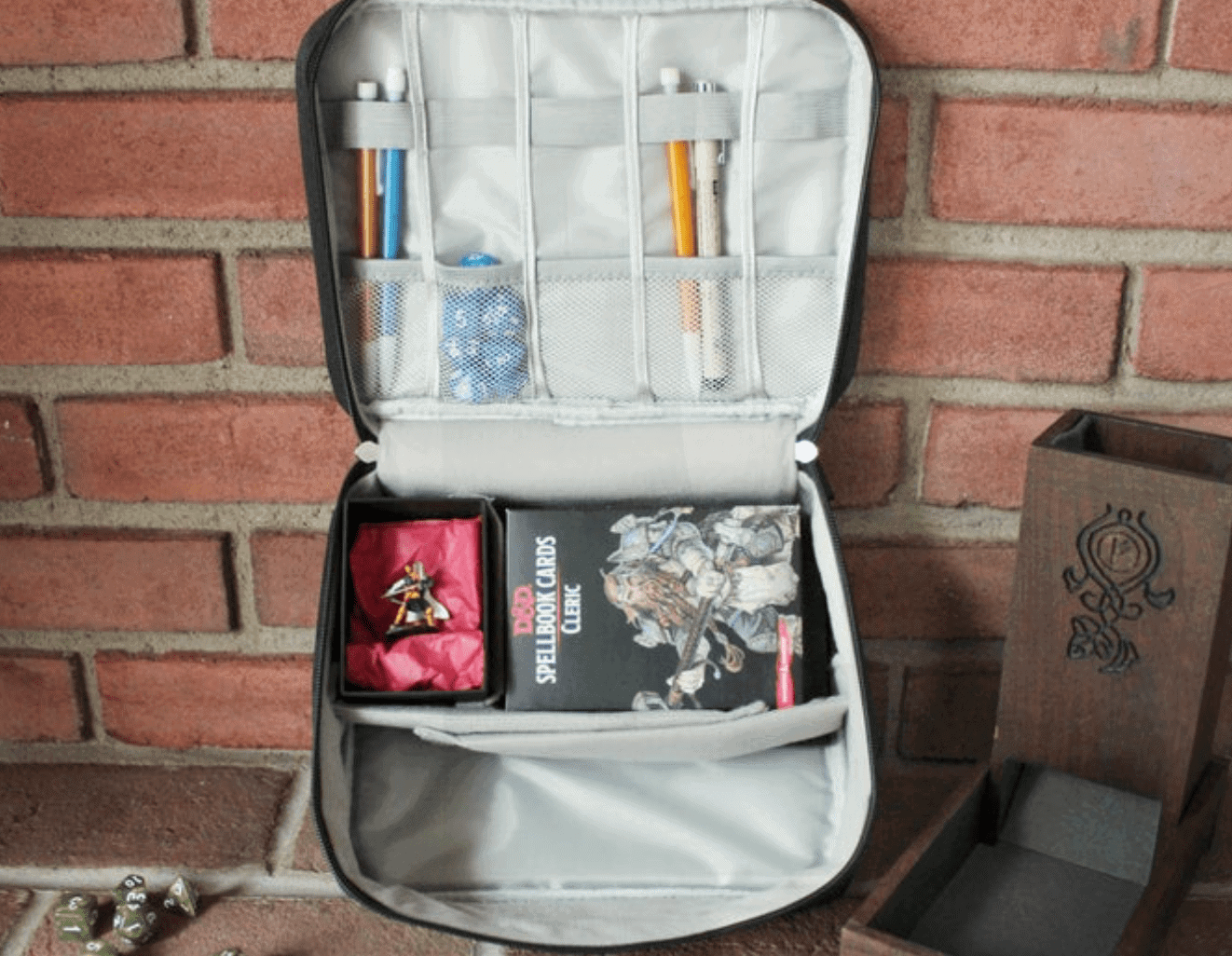 D&D Game Bag/ Accessories Carrying Case