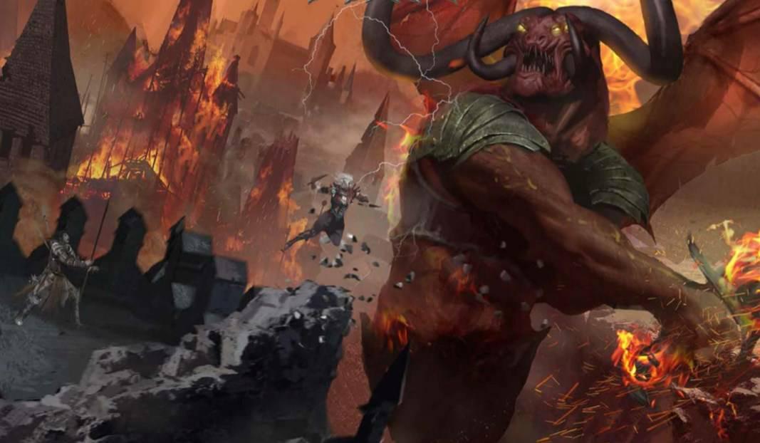 Blood War D&D