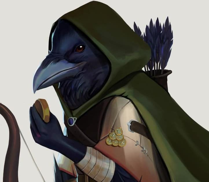Kenku with bow